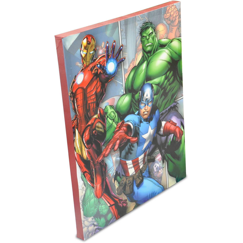 Marvel Wall Decor marvel avengers canvas wall art - walmart