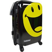 Smiley 4001-22 Smiley World Happy Luggage, Black - 22 in.