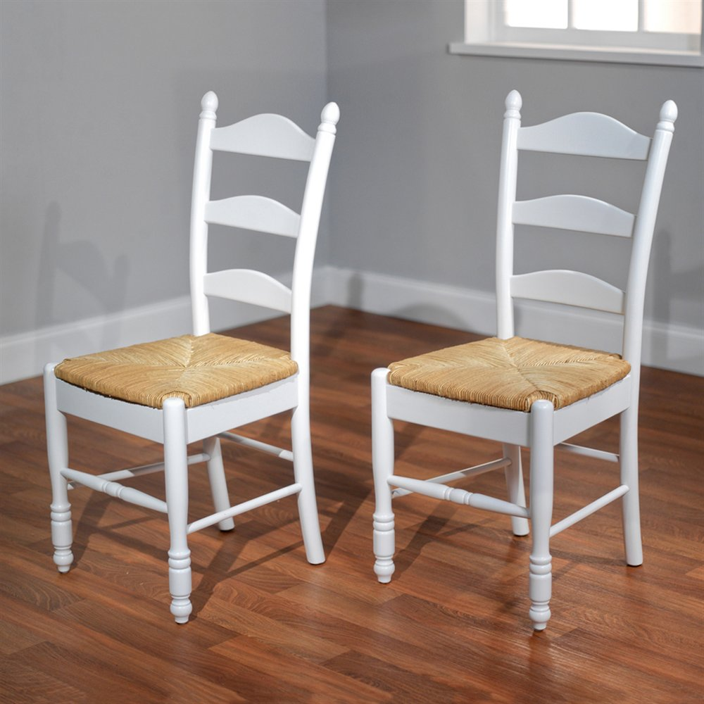TMS Furniture 37318 Ladderback Chair (Set of 2)