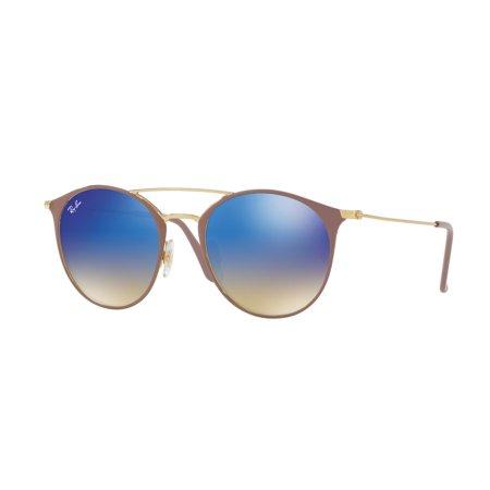 78460f2695 Ray-Ban - Ray-Ban 0RB3546 Full Rim Phantos Unisex Sunglasses - Size 49  (Blue Flash Gradient) - Walmart.com