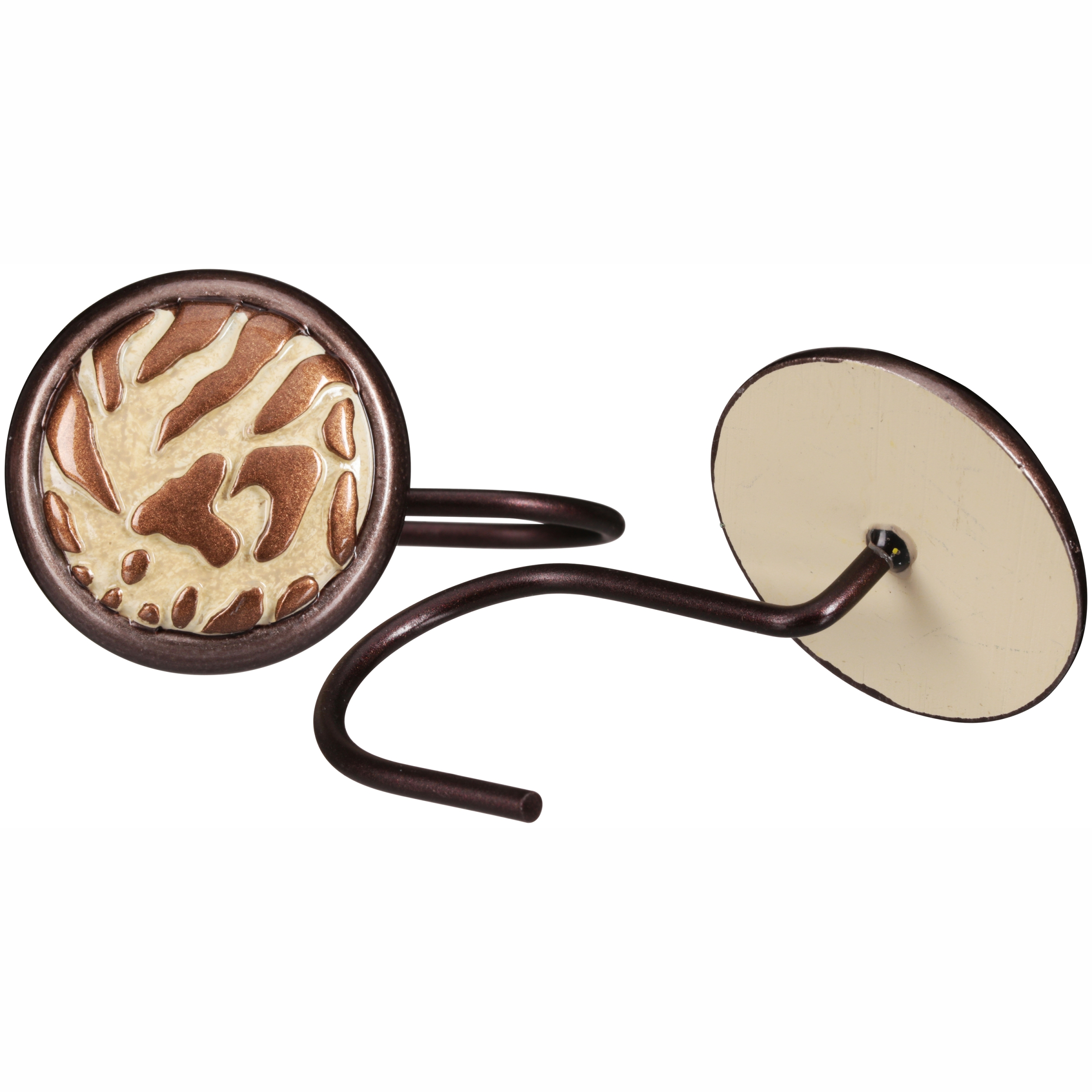 Better Homes and Gardens™ Animal Print Shower Hooks 12 ct Box