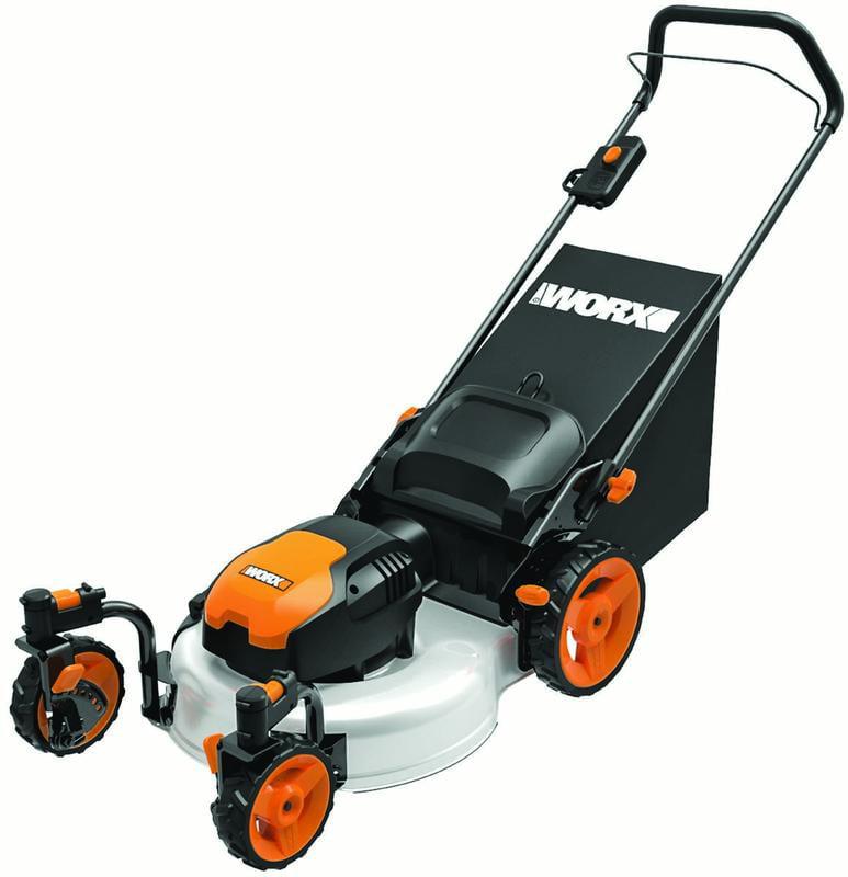 worx wg719 13 amp 19 in  electric lawn mower - Walmart com