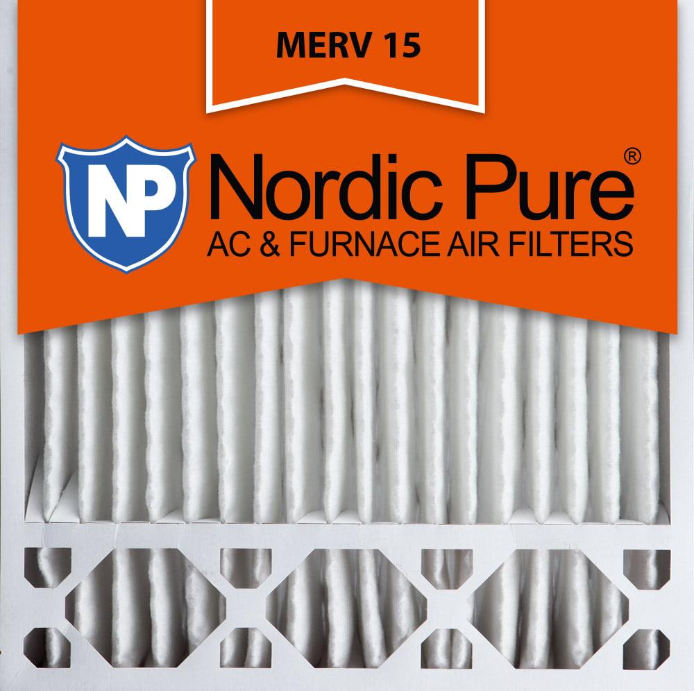 Nordic 20x20x5 Honeywell Replacement Pleated MERV 15 Air ...