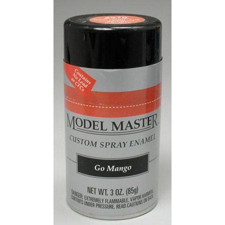 Testors Model Master Automotive Enamel Go Mango Spray 1:0 Scale