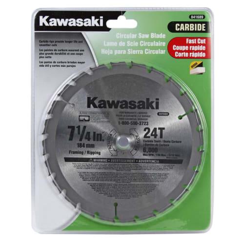 Kawasaki 841689 7-1/4-In. Circular Saw Blade - 24T