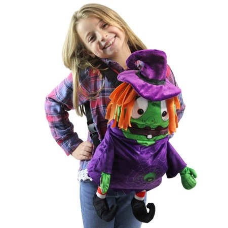 Musical Animated Witch Children's Halloween Trick or Treat Bag (Children's Halloween Treat Bags)