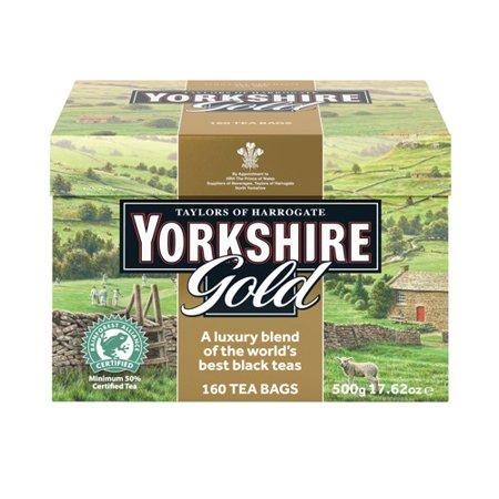Taylors of Harrogate Yorkshire Gold Tea Bags, 160 ea