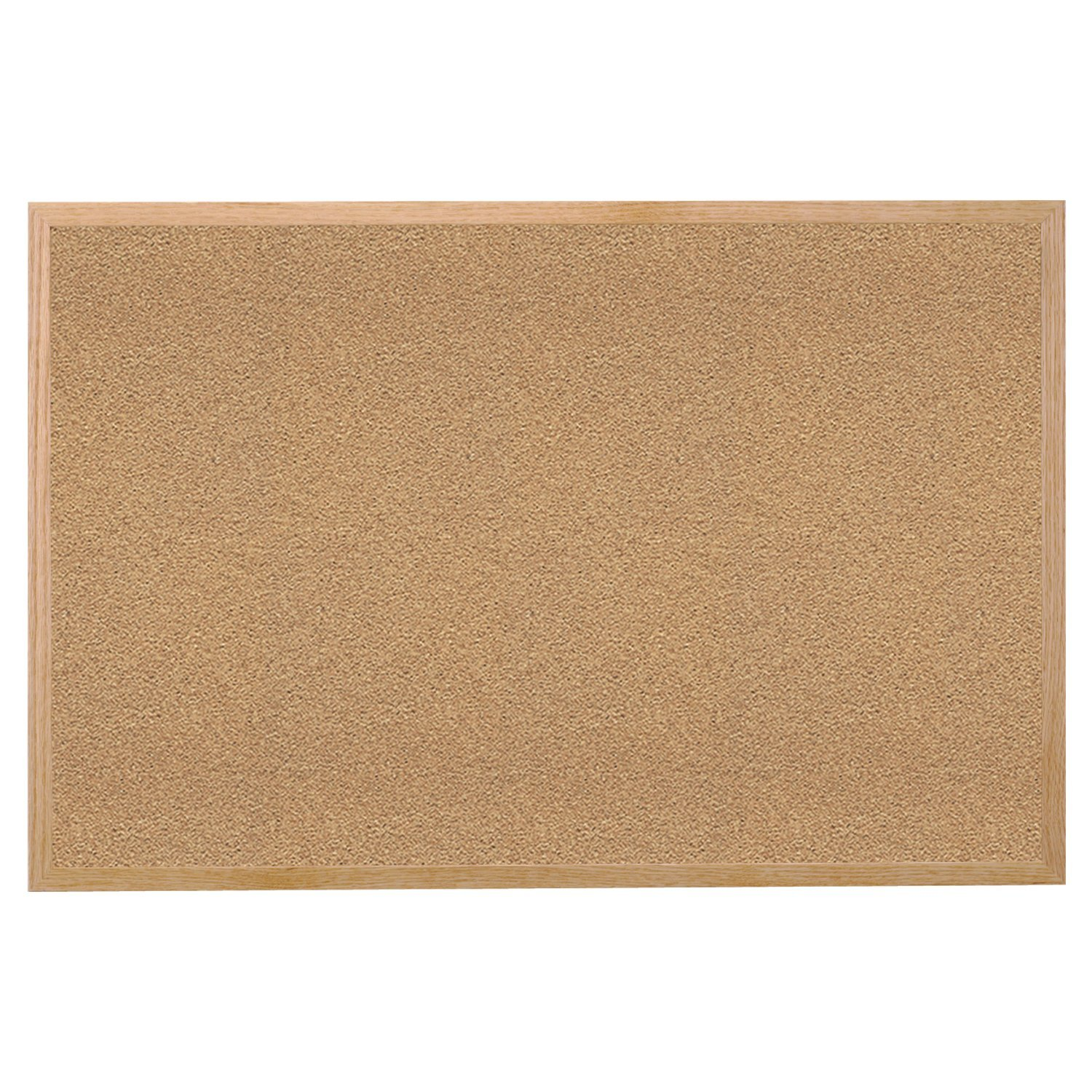 """24.0"""" x 36.0"""" Wood Frame Natural Cork Bulletin Board, Made in the USA, BOARD Beautiful Cherry Aluminum 36x60 Black Strong Made MWDB2436ECR inches.., By Ghent"""