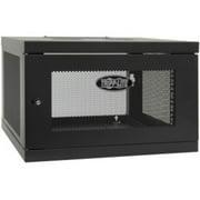 Tripp Lite SRW6UKD SmartRack 6U Low-Profile Switch-Depth Knock-Down Wall-Mount Rack Enclosure Cabinet