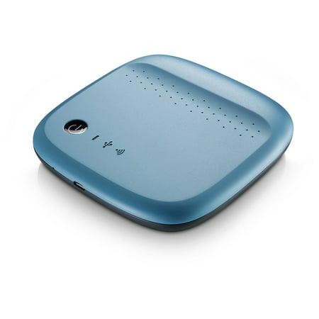 Refurbished Seagate Wireless 500Gb Usb 2 0 Mobile Portable Storage Wifi Back Up Hard Drive