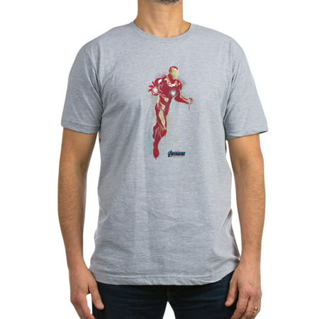 CafePress - Iron Man Men's Fitted T Shirt (Dark) - Men's Fitted T-Shirt
