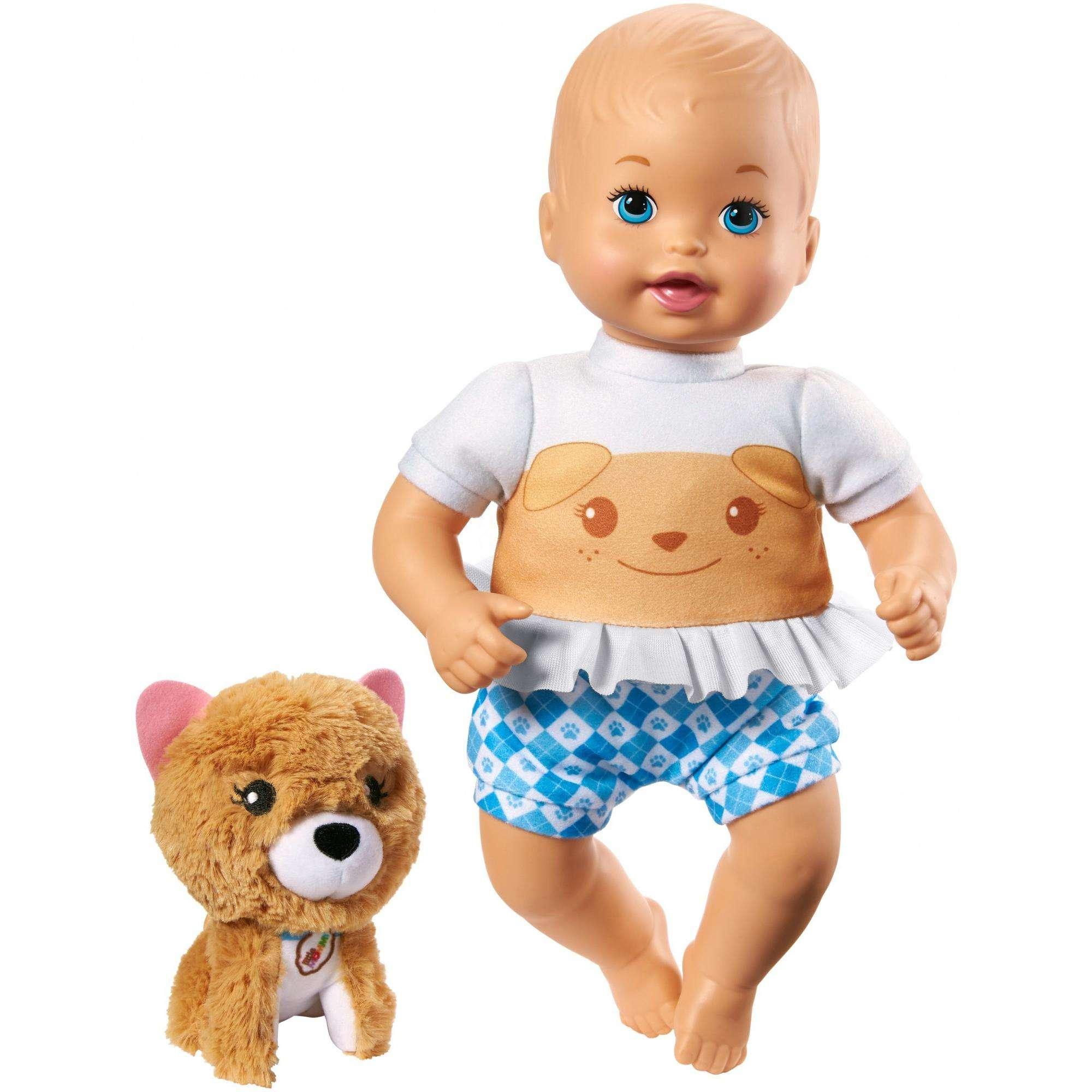 Little Mommy Cuddle and Care Doll and Pet Puppy