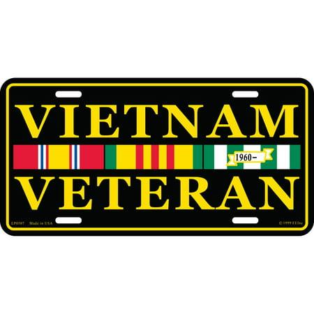 Vietnam Veteran If you Haven't Been License Plate