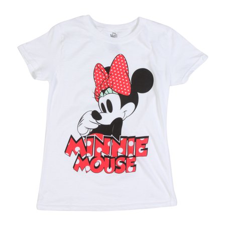 Disney Girls' Big Girls' Minnie Mouse Short Sleeve T-Shirt](Minnie Mouse Skirt)