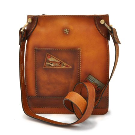 1ad499fcf Pratesi - Womens Italian Leather Bakem Medium Crossbody Bag in Cow Leather  - Walmart.com