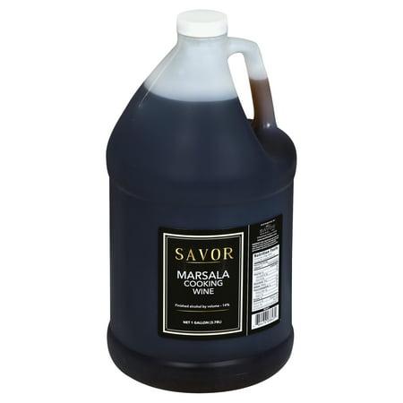 Savor Imports Marsala Cooking Wine, 1 Gallon (4 Pack) (Marsala Cooking Wine)