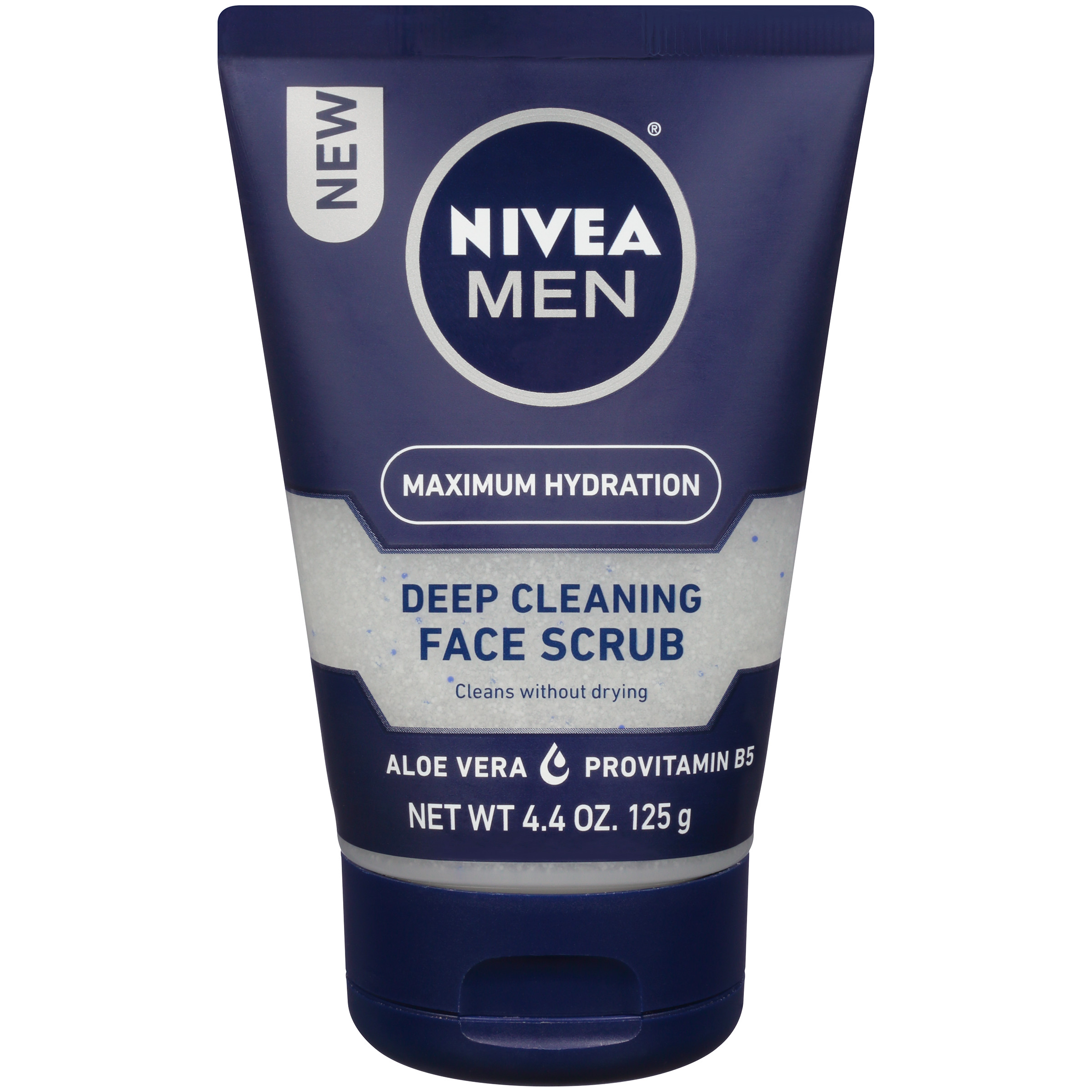 NIVEA Men Maximum Hydration Deep Cleaning Face Scrub 4.4 oz.