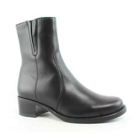 La Canadienne Womens Perla Black Ankle Boots Size 6