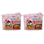 Samyang Carbo Spicy Chicken Ramen, 4.5 oz (Pack of 10)