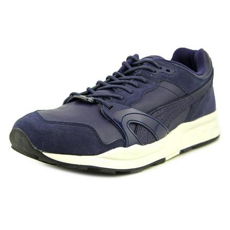 Puma Xt1 Citi Series Men  Round Toe Leather Blue Running - Mens Player Series Leather