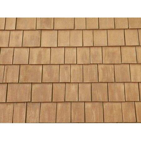 LAMINATED POSTER Background Wall Siding Shingles Backgrounds Wood Poster Print 24 x 36