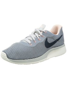 c0447df5156e4 Product Image Nike Women s Tanjun Racer Running Shoes (Pure Platinum Armory  Navy Armory Blue)