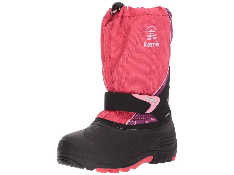 Kids Kamik Girls Sleet Knee High Pull On Rain Boots by Kamik