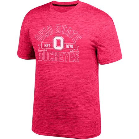 Men's Scarlet Ohio State Buckeyes Gravity Digi Space T-Shirt - Ohio State Baby Clothes