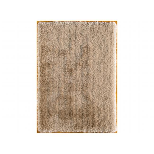 Central Oriental 6226.77.50 Ultimate Shag 100 Percent Polyester Rug, Gold - 5 x 7 ft. - image 1 de 1