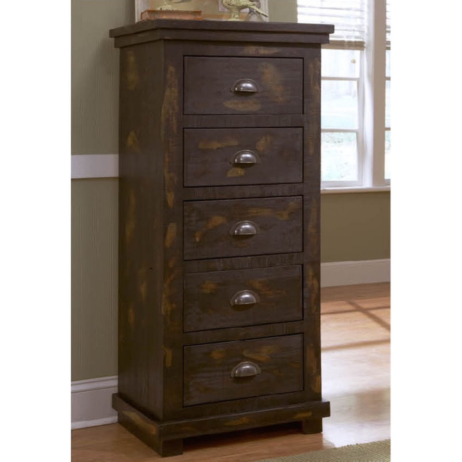 Progressive Furniture Willow 5 Drawer Lingerie Chest
