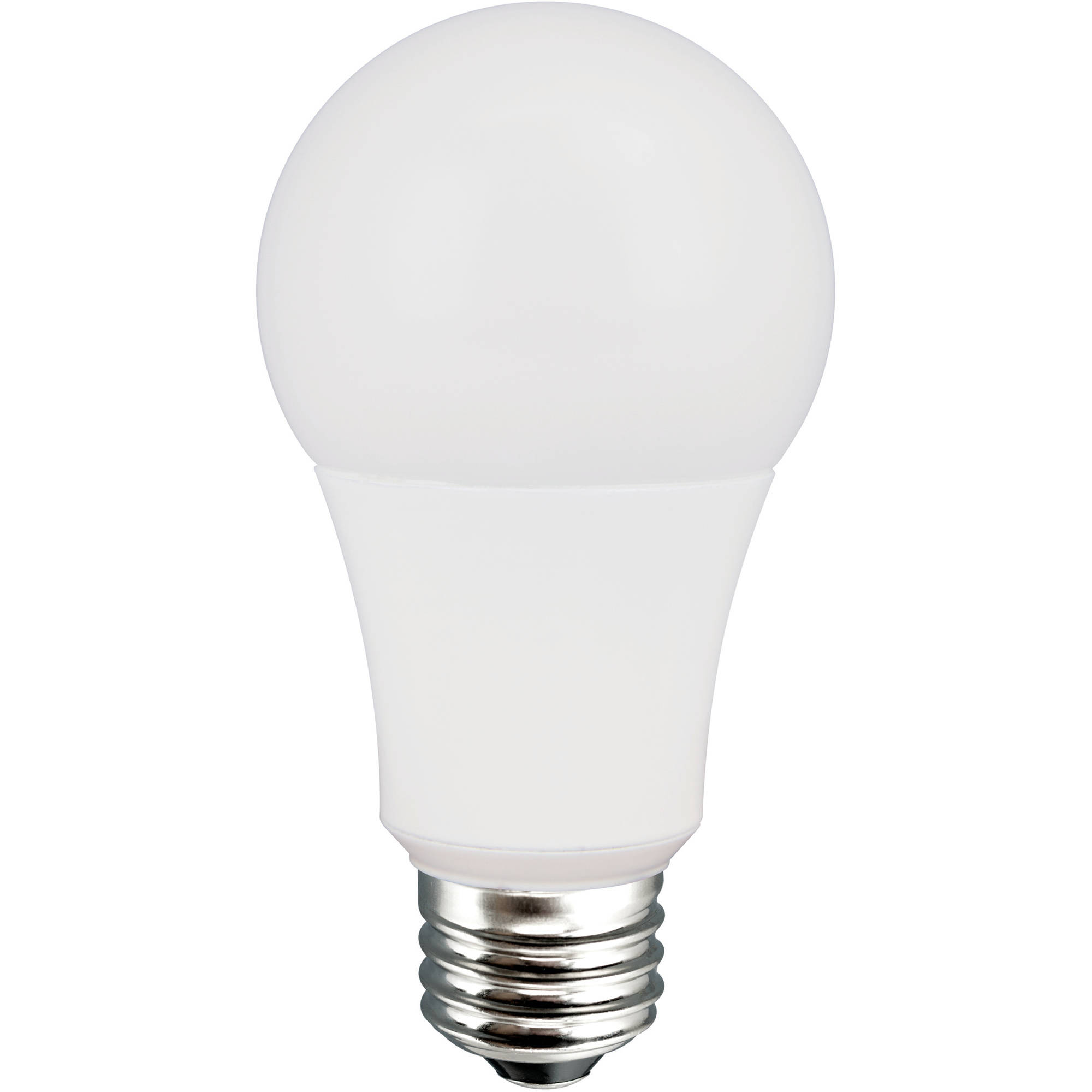Beau Great Value LED Light Bulbs, 8.5W (60W Equivalent), Soft White, 4 Count    Walmart.com