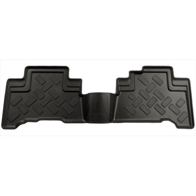 Classic Style Series Thermoplastic Elastomer Black 2Nd Seat Floor Liner - image 1 de 1