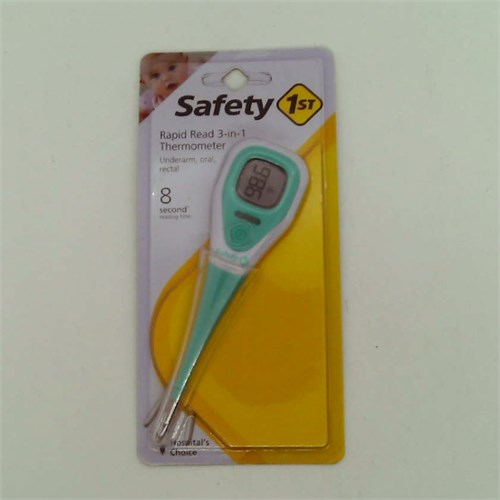 Safety 1st 3-in-1 Thermometer with Backlight Mint