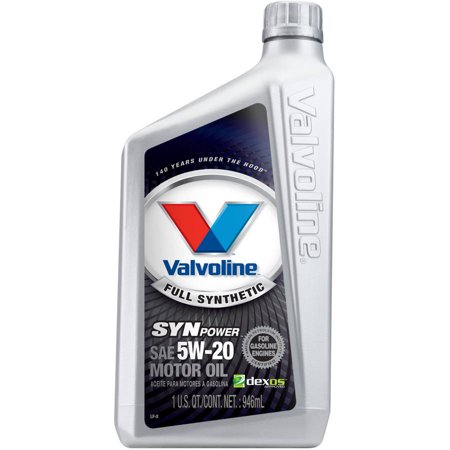 Valvoline Synpower Full Synthetic 5w 20 Motor Oil 1 Quart