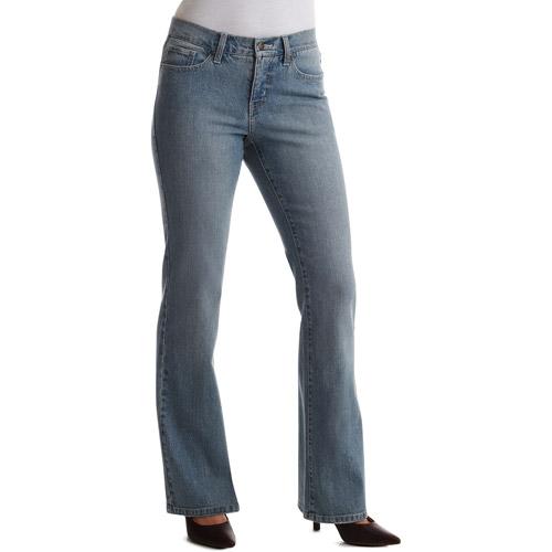 Faded glory women's basic bootcut jeans petite