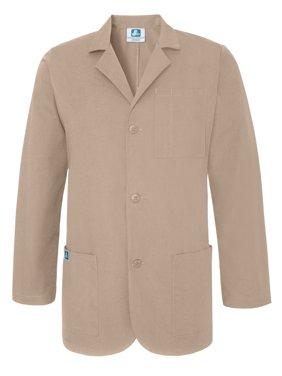"""Adar Universal 31"""" Mens Classic Consultation Coat - 805 - Olive - L"""