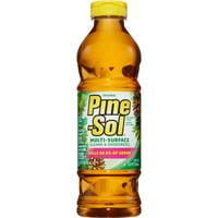 Pine-Sol Multi-Surface Cleaner - 0.19 gal (24 fl oz) - Original Scent - 12 / Carton - Amber
