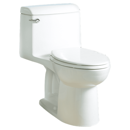 American Standard Champion 4 1.6 GPF Right Height 1-Piece Single Flush Elongated Toilet in White