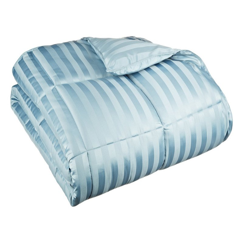 Superior All Season Down Alternative Wide Stripe Comforter