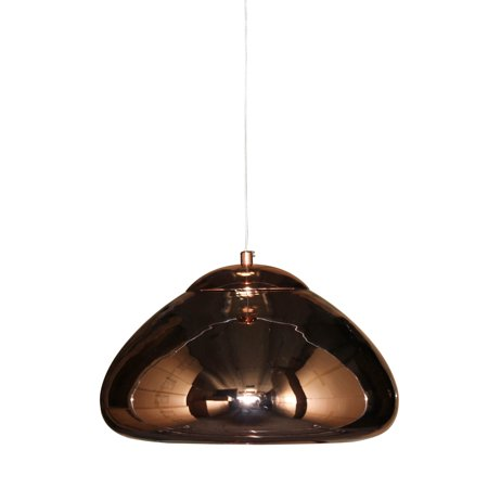 Solid Copper Designer Pendant - lightupmyhome Neptune Mirrored Pendant Chandelier Polished Copper