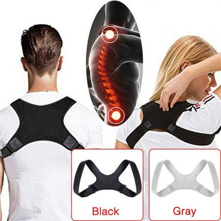 Back Brace Posture Corrector for Men and Women Adjustable, Pain Relief Correct Poor Posture, Comfortable Upper Back Belt Clavicle