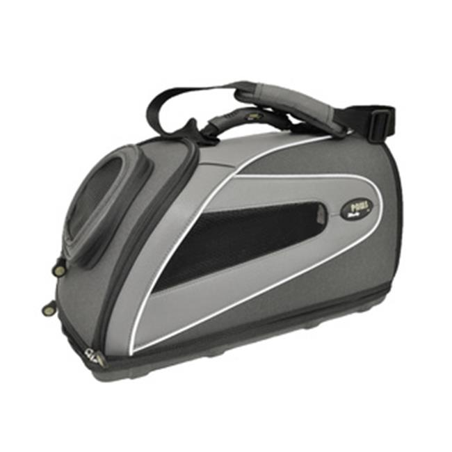 Wacky Paws WPC016MB-BK EVA Pet Carrier, Black, Small