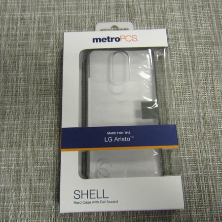 Metro PCS Shell Hard Case with Gel Accent for the LG Aristo