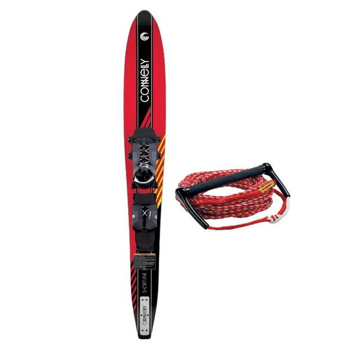 Shortline 67 Swerve RTS Binding With Rope Connelly Slalom Water Ski by Connelly
