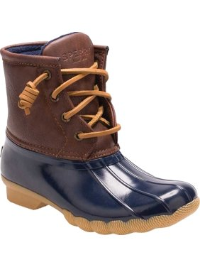 Infant Girls' Sperry Top-Sider Saltwater Duck Boot Navy 7 M