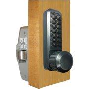 Lockey 230-P-BB Mechanical Keyless Knob Panic Trim Bright Brass