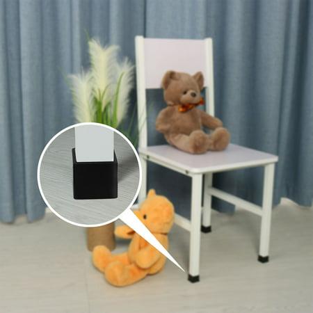 """Desk Chair Table Leg Caps End Tip Home Furniture Protector 30pcs 1""""x1"""" (25x25mm) - image 6 de 7"""