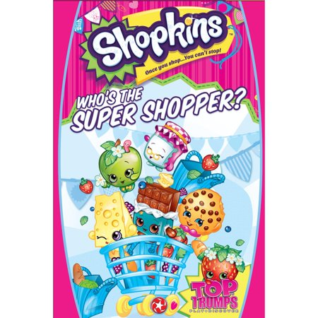 Cardinal Shopkins Card Game in Hanging Box