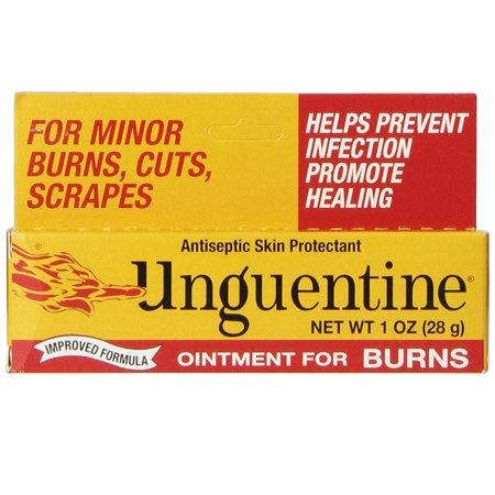 Unguentine Ointment for Burns Antiseptic Skin Protectant 1 oz