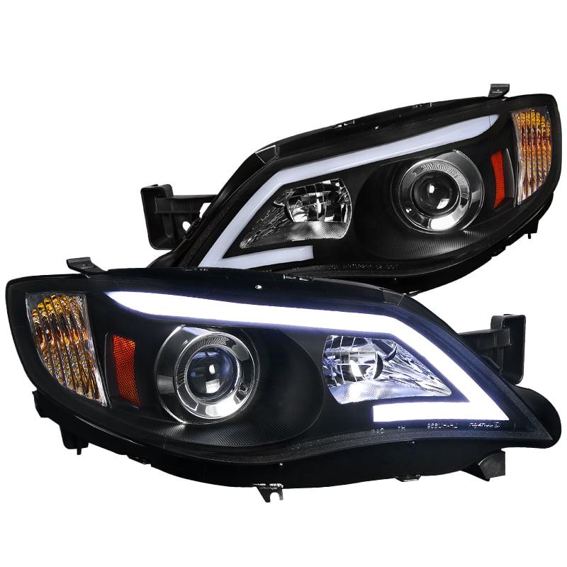 Spec-D Tuning 2008-2011 Subaru Impreza Outback Led Projector Headlights Piano 08 09 10 11 (Left + Right)